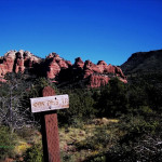 """Sign saying Cowpie's Trail in Sedona"""