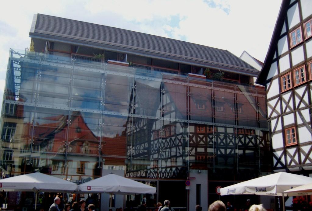 """""""Erfurt town centre"""""""
