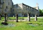 Church ruins in Abbaye de Royaumont copy