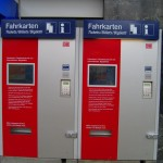 """Ticket machines in German Hauptbahnhof"""