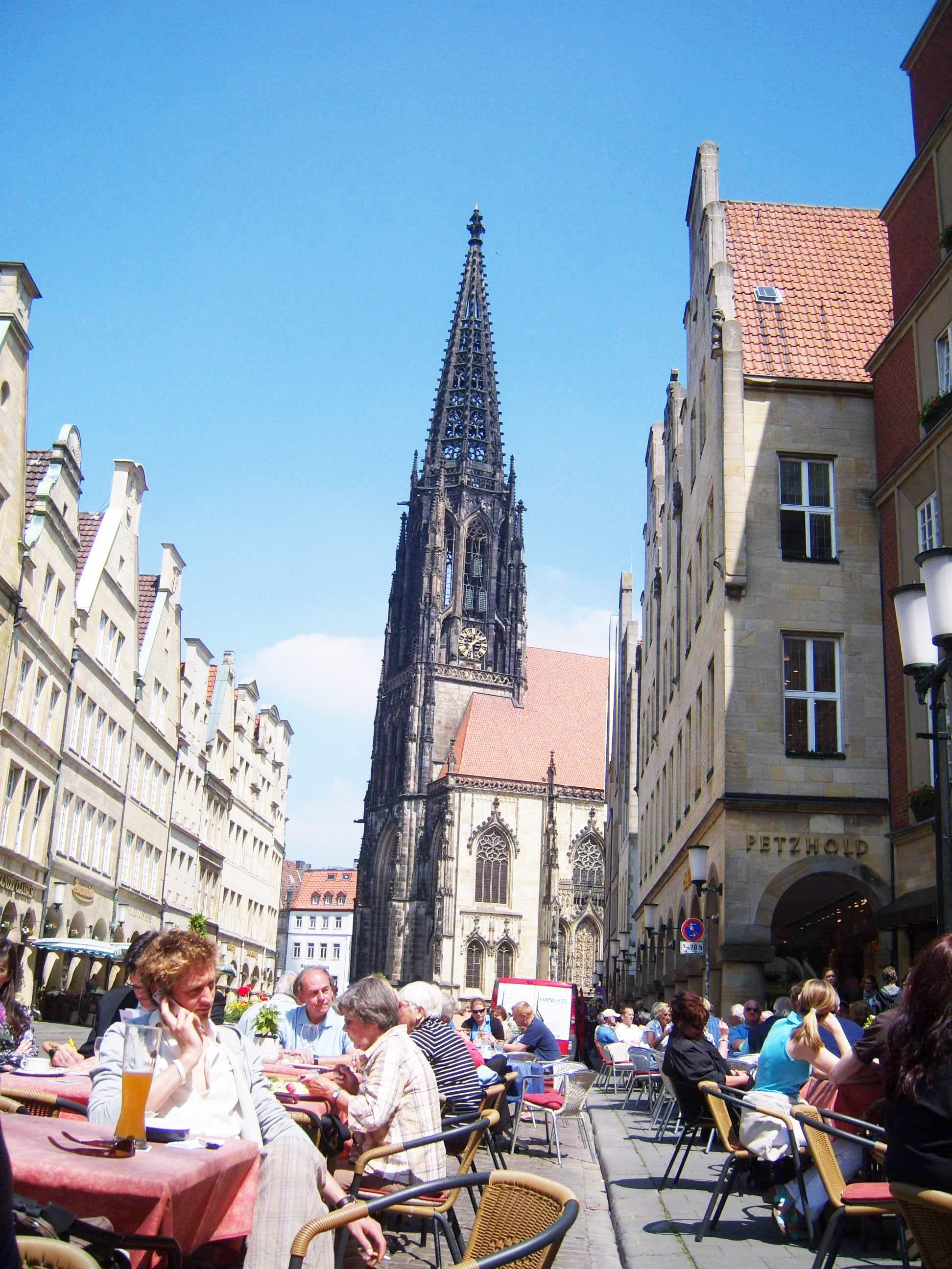 """Prinzipalmarkt in Muenster Germany"""