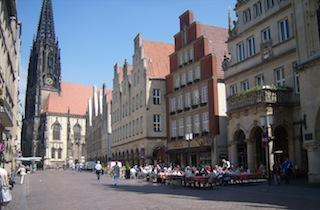 """Muenster Germany Prinzipalmarkt"""