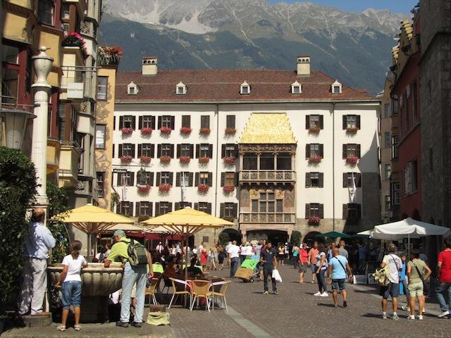 """Innsbruck Town centre Austria"""