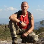 """Raf Mirantes hikig to the Pico da Tijuaca in Rio de Janeiro"""