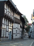 """Timbered house in Goslar in Germany"""