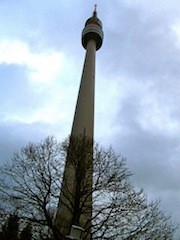 """The Tower in Westfalenpark in the Ruhrgebiet in Germany"""