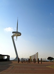 """The Needle in the Olympic Village of Barcelona"""