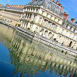 """Chateau de Fontainebleau near Paris"""