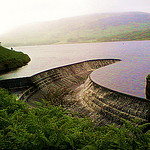 """Torside Reservoir in Crowden Derbyshire"""