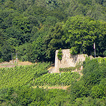 """Neu-Wolfstein castle ruin in the Palatinate"""