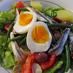 """A plate of Salad Nicoise"""