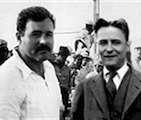 """Fitzgerald and Hemingway"""
