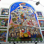 """themed london walks - spirit of soho mural"""