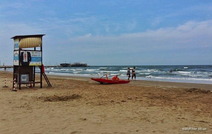"""beach - Rimini of Fellini"""