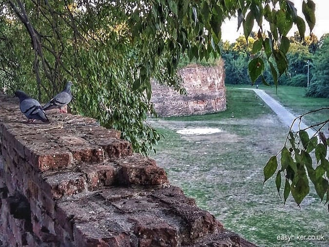 """more old walls of Ferrara - journey through Emilia Romagna"""