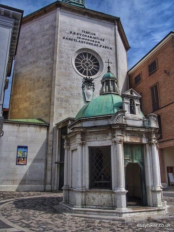 """""""temple in city square - Rimini of Fellini"""""""