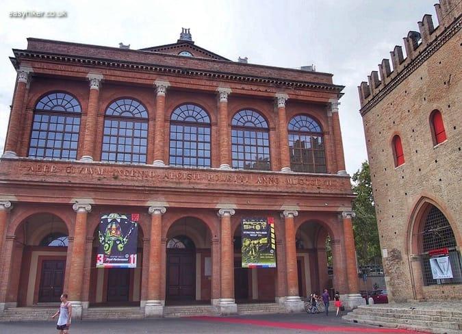 """""""Teatro Galli - Rimini of Fellini"""""""