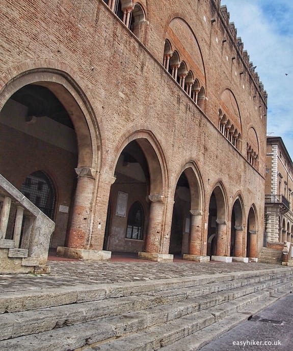 """Palazzo Arengo - Rimini of Fellini"""