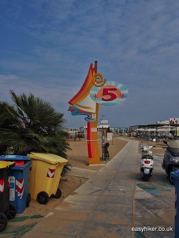 """beach resort - Rimini of Fellini"""