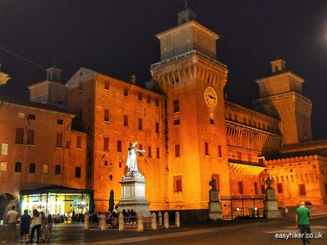 """Castello Estense in Ferara - journey through Emilia Romagna"""