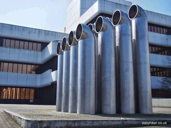 """Friedrich Graesel's Air Ducts - Sculptures in Muenster"""
