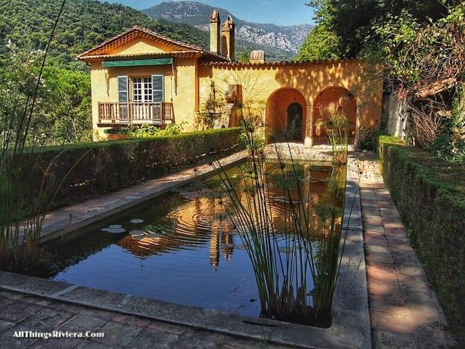 """""""Villa in the Serre de La Madone Garden"""""""