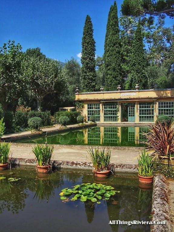 """greenhouse of the Serre de La Madone Garden"""