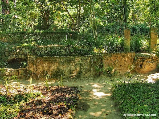"""""""parts of the Serre de La Madone Garden"""""""