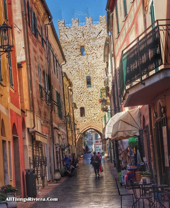 """visiting the town on a Wondrous Easy Hike in Noli Italy"""