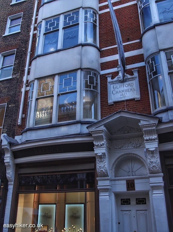 """Clifford Chambers on 10 Bond Street - Cambridge Five in London"""