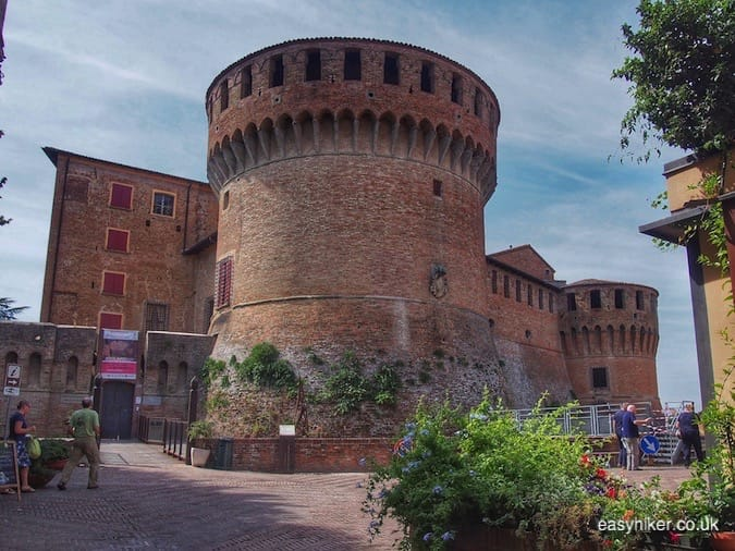 """Rocca Sforzeska - Graffiti is Celebrated in City of Arts Dozza"""