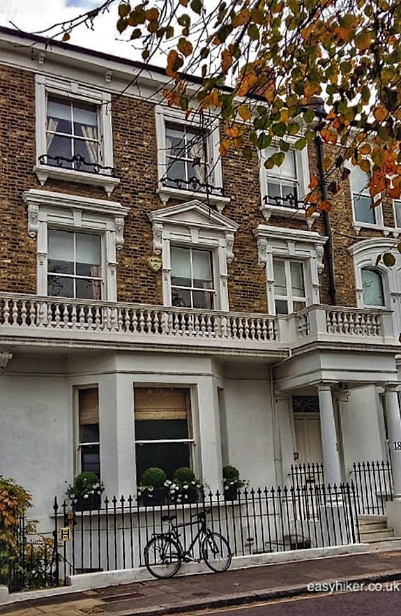 """former home of Kim Philby - London spy walk"""