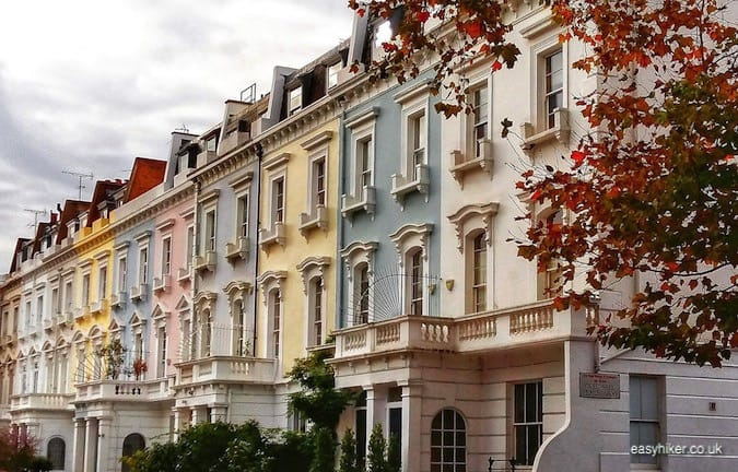 """posh houses in SW10 - London spy walk"""