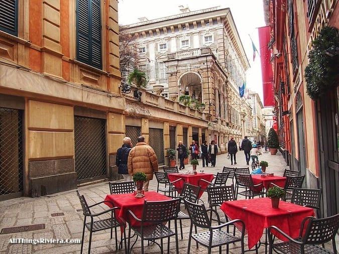 """""""Via Garibaldi in Genova - Genoa is like Audrey Hepburn"""""""