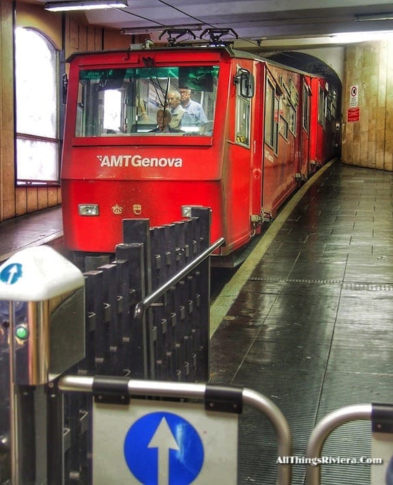 """Funicular to Ringhi = Genoa is like Audrey Hepburn"""""