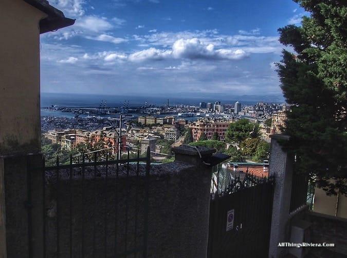 """""""Genova harbour seen from the Sanctuario - Genoa is like Audrey Hepburn"""""""""""