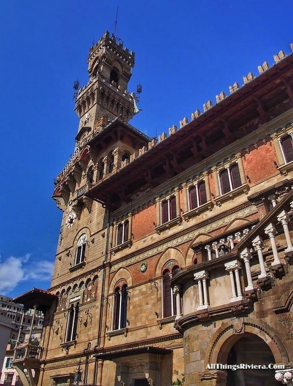 """MacKenzie castle in Genova - Genoa is like Audrey Hepburn"""