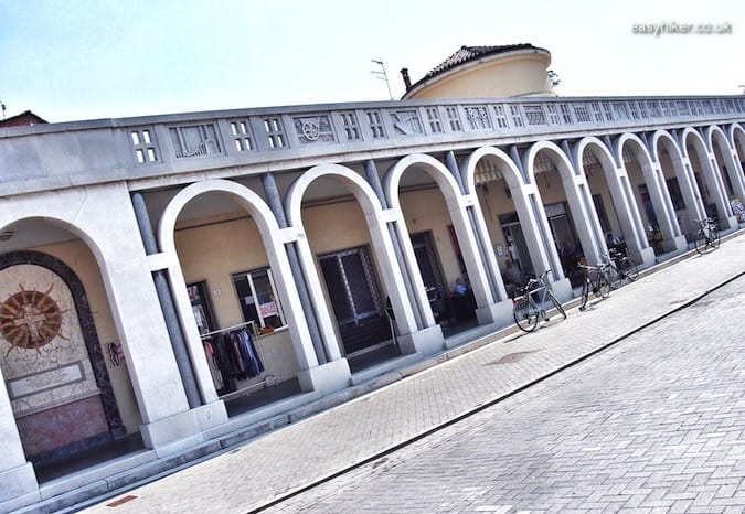 """Fascinated by Fascist Architecture - Tresigallo town center"""