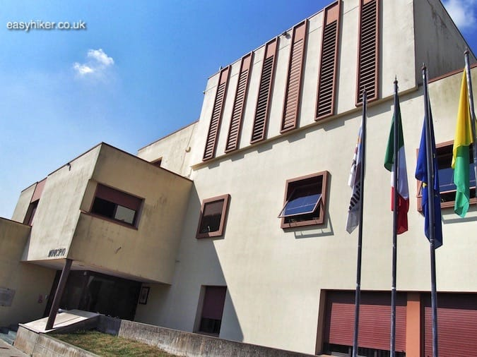 """Fascinated by Fascist Architecture - Tresigallo city hall"""