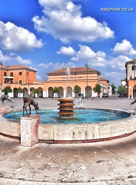 """""""Fascinated by Fascist Architecture - Piazza della Repubblica in Tresigallo"""""""