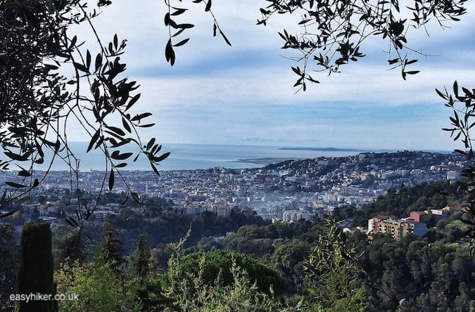 """view of Baie des Anges from Canal Gairaut on Your Short Trip to Nice"""