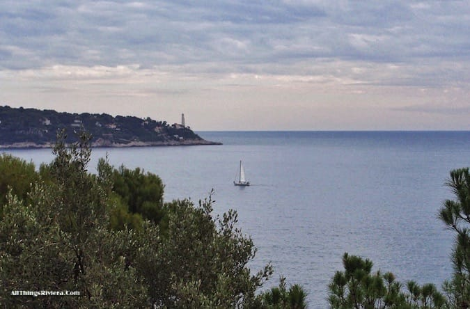 """view of Cap Ferrat along a Neat Little Hiking Package to Cap Nice"""