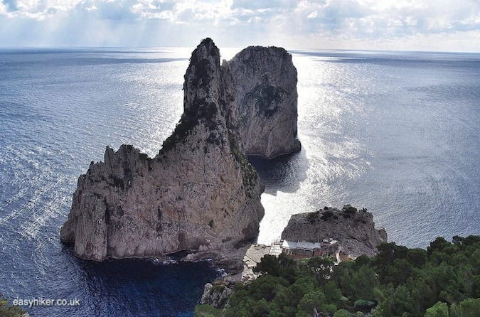 """""""rock formations - see the best of Capri"""""""