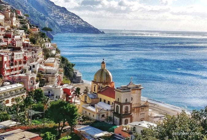 """view of Positano to get the best out of the Amalfi coast in a day"""