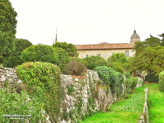 """Monastere Notre Dame - one of 5 more Riviera Gardens to Discover"""