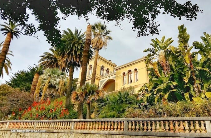 """""""sumptuous villas in Menton - part of a scenic walk from France to Italy"""""""