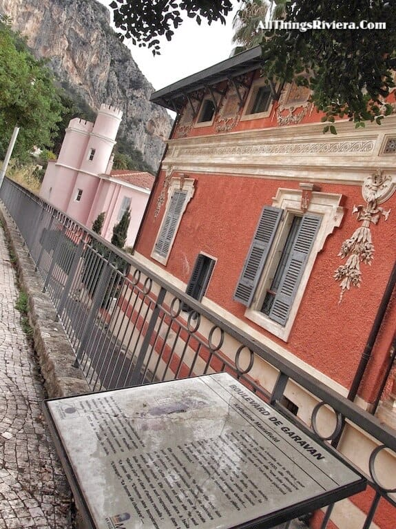 """""""Katherine Mansfield museum in Menton -part of a scenic walk from France to Italy"""""""""""