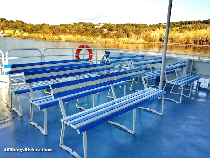 """ferry ride to go hiking or biking in Porquerolles"""