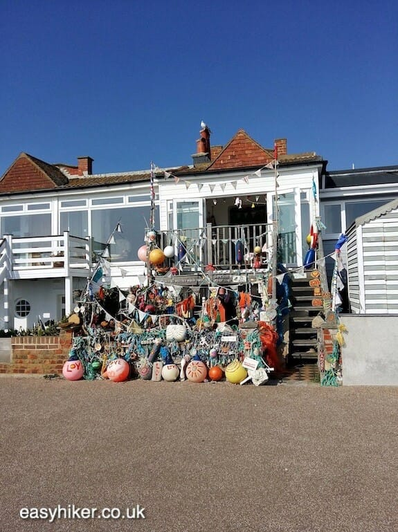 """Bexhill on Sea beach front along the Sussex Coastal Cultural Trail"""