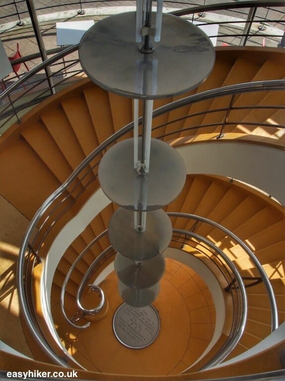 """inside the De la Warr Pavilion along the Sussex Coastal Cultural Trail"""